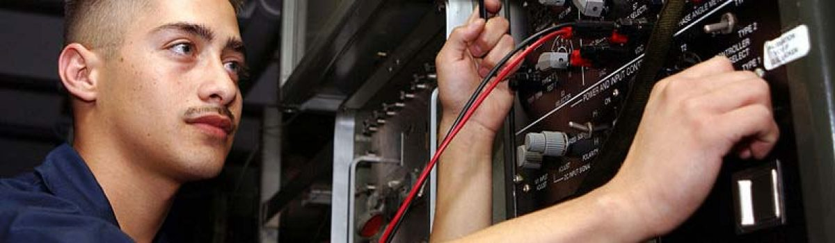 If you're a well-trained electrician, you'll always have a job! Contact us about training!